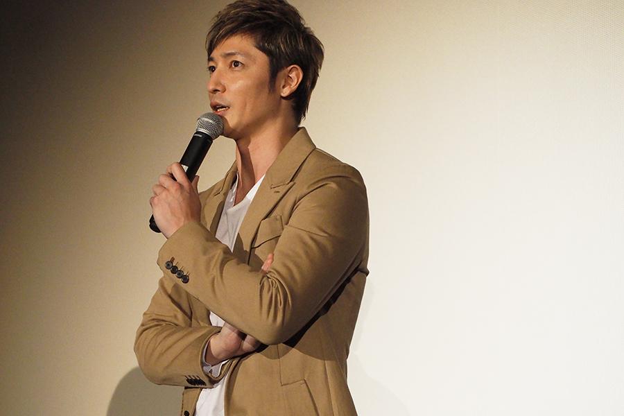主演映画の舞台挨拶に登場した俳優・玉木宏