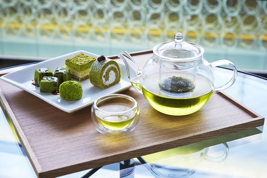 新茶が登場して、7種類から選ぶことができる