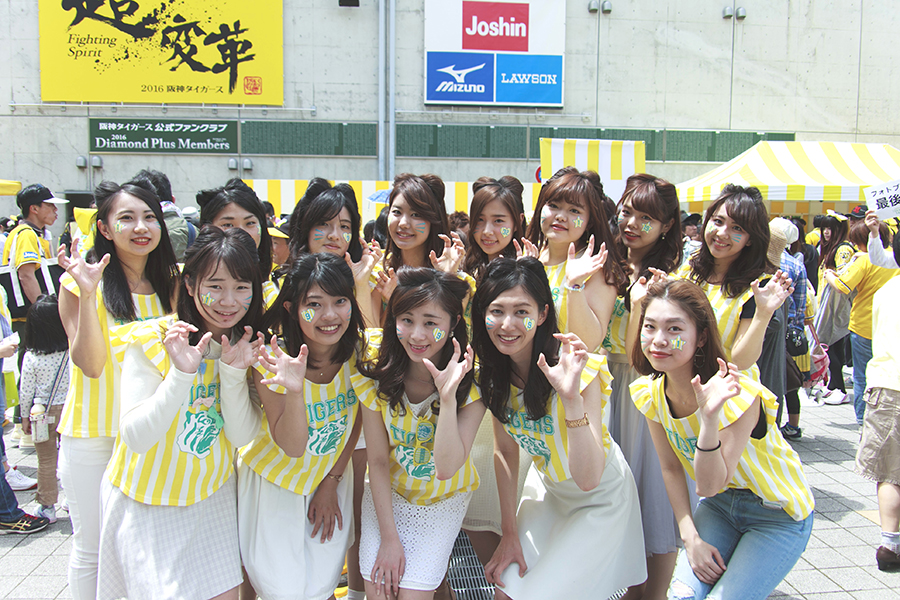 球場外周で行われた関連イベントも、女性ファン=TORACOで大賑わい
