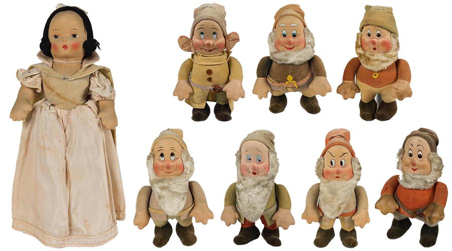 『白雪姫』 R.G.クルーガー社アンティーク人形(1938年頃) ⒸDisney