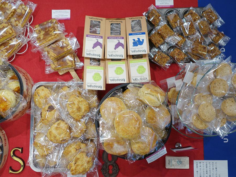 6月24日は「UNDERGROUND BAKERY」(神戸)。6月25日と30日にも、イギリスのお菓子が楽しめる店が登場