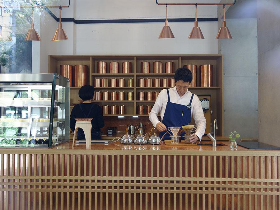 「中川ワニ珈琲」で学び、直伝のコーヒーを提供