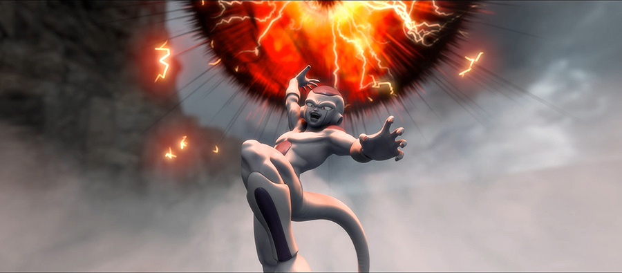 強い、強すぎるフリーザ。©バードスタジオ/集英社・フジテレビ・東映アニメーション