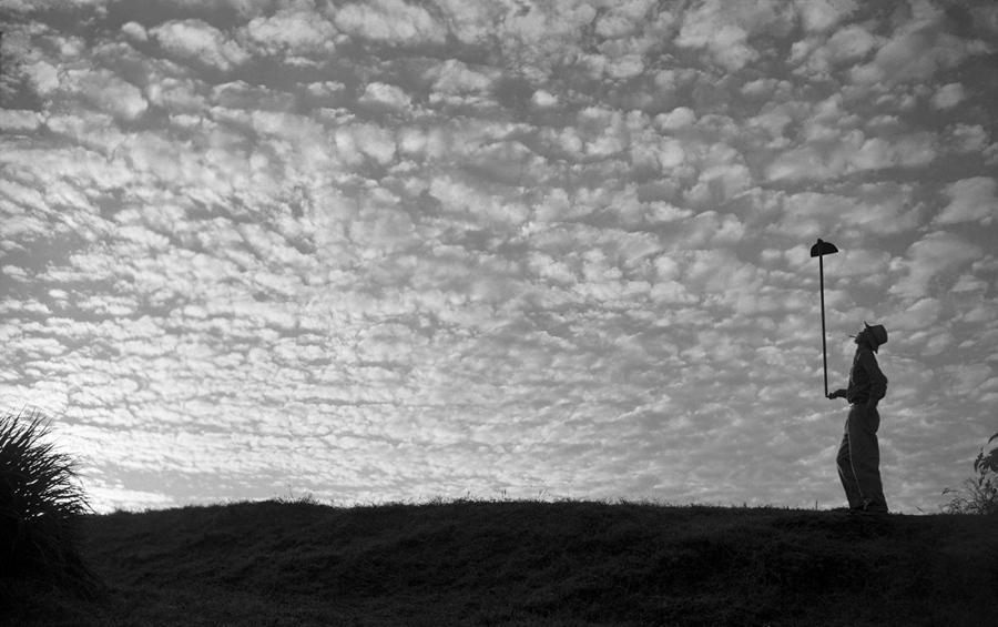 「朝の雲」1952年、パラナ州テラ・ボア ©Haruo Ohara/ Instituto Moreira Salles Collections