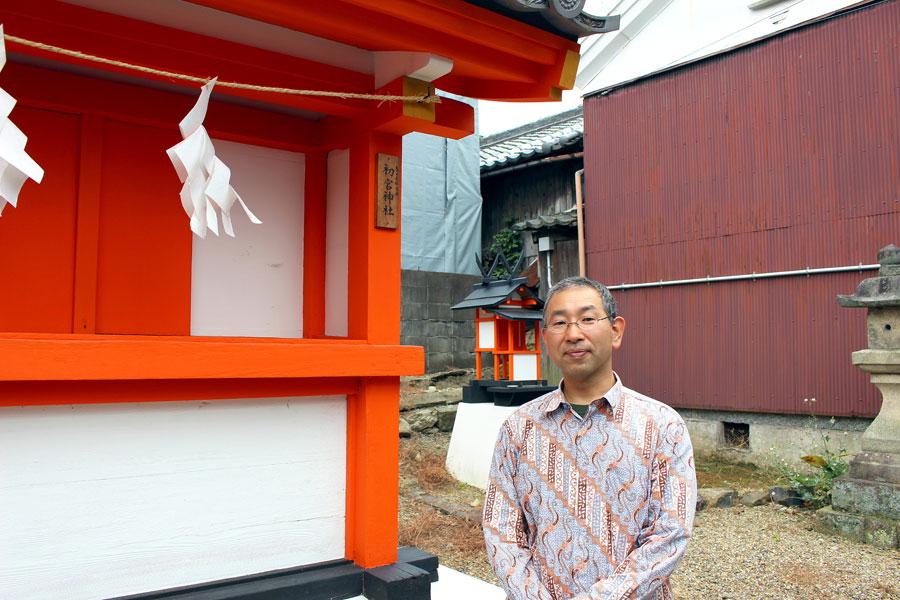 「旅するふるほん屋ぼちぼち堂」のご主人・下村信人さん