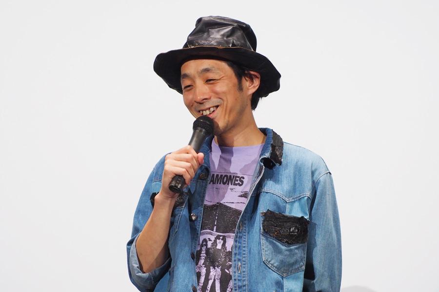 舞台挨拶に登場した宮藤官九郎監督