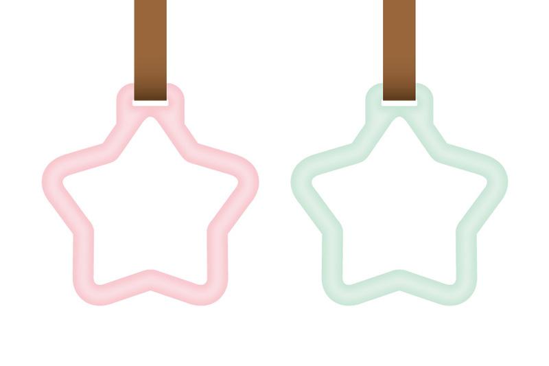 星型のつり革