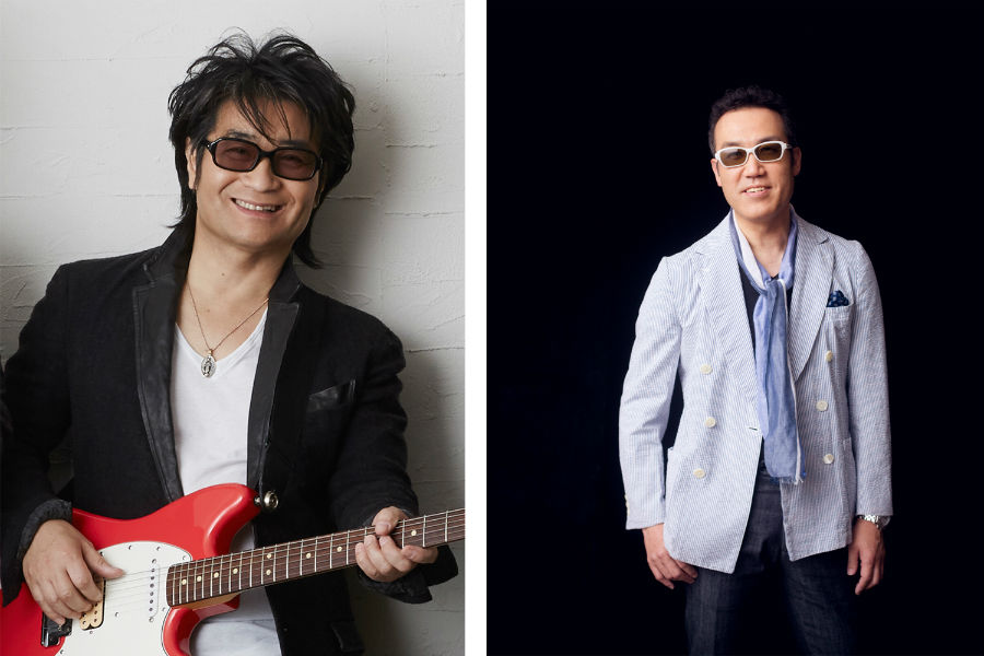 『夢☆伝説 ~はるか時を超えて~』に出演する根本要(左)と星のお兄さん