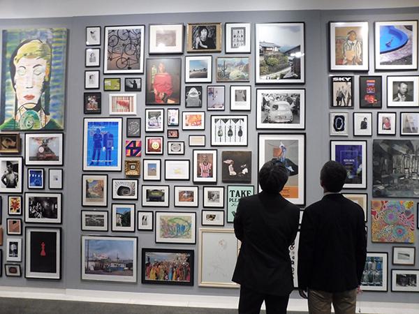 「ポール・スミス展」より、アートウォールのコーナー