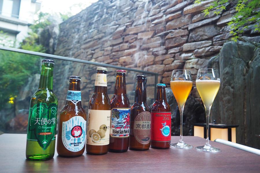 京都の湿気とビールがとても合うんだとか