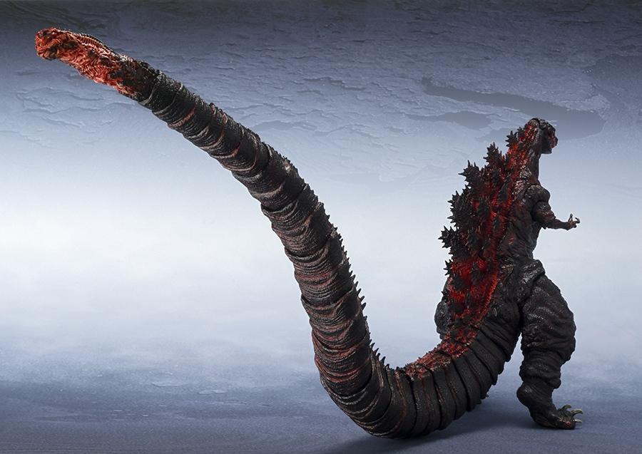 フィギュア「S.H.MonsterArts ゴジラ(2016)」