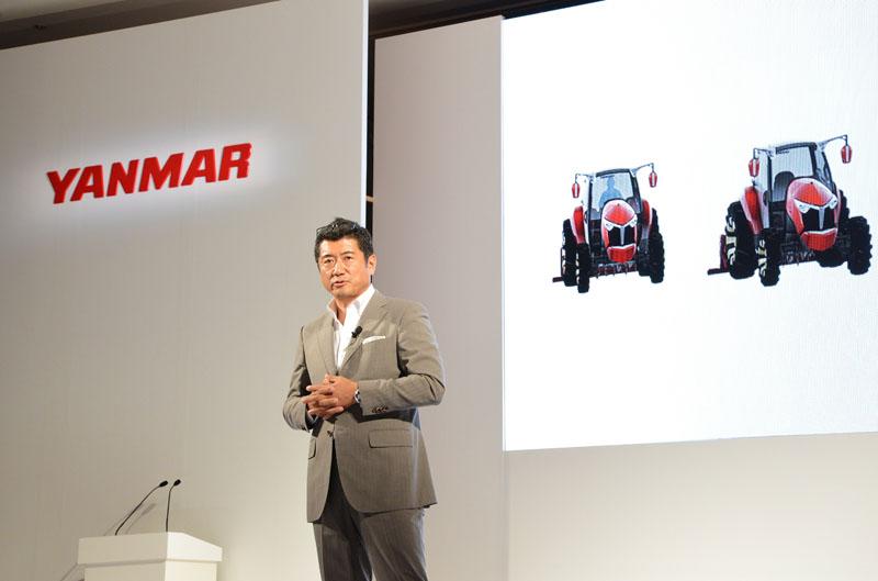 ヤンマー取締役に就任した、世界的工業デザイナーの奥山清行氏
