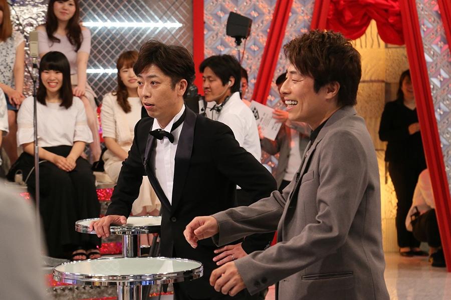 MCの後藤はゲーム初参加、先輩芸人・田村淳と対決