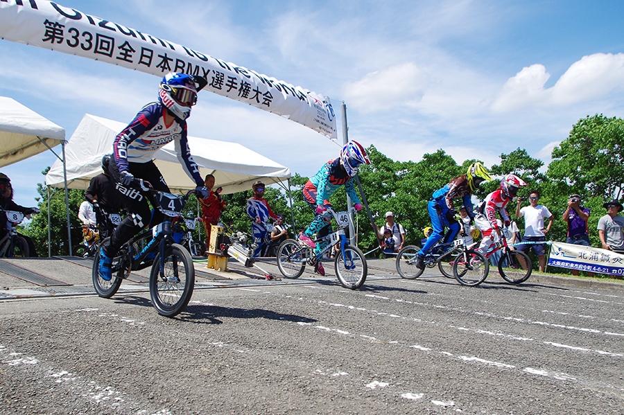 「大泉緑地」内のサイクル泥んこ広場で開催された『第33回全日本BMX選手権大会』