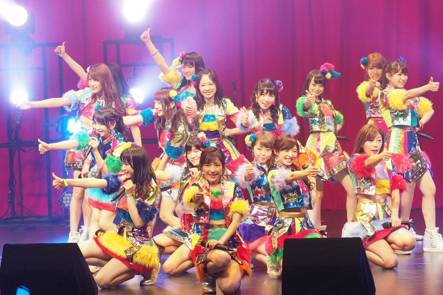 『やり過ぎ!サマーシアター』に登場したAKB48のメンバー