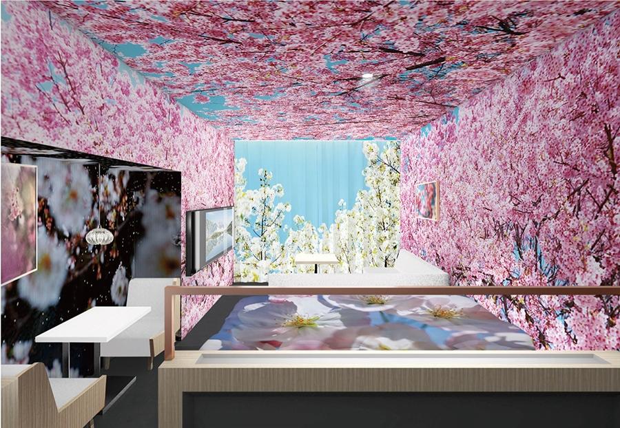 蜷川実花が手掛ける「ホテル アンテルーム 京都」のコンセプトルーム(イメージ)