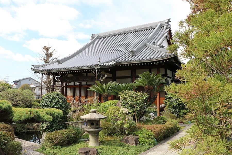 イベント会場は、兵庫県尼崎市の浄土真宗本願寺派の「清光山西正寺」