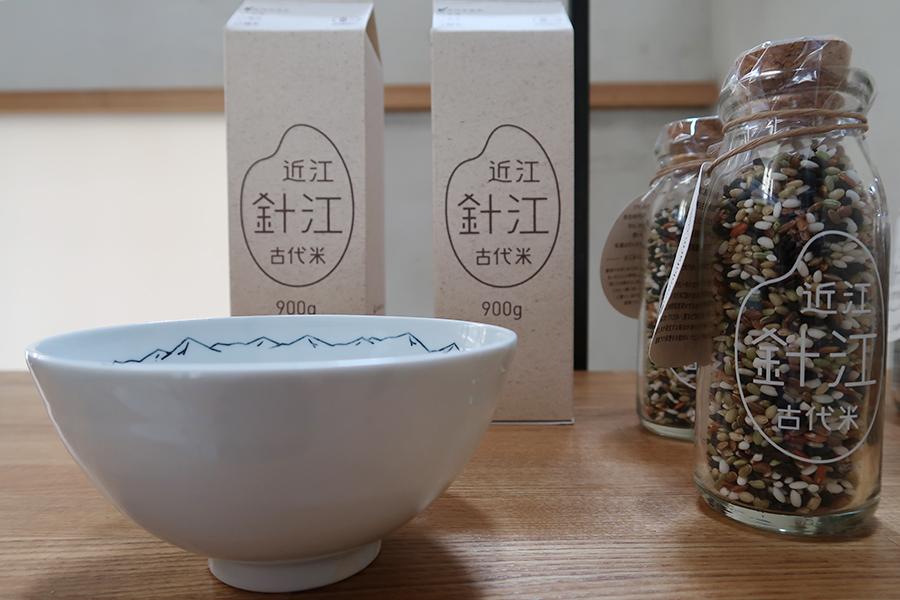 滋賀・「針絵のんきぃファーム」の古代米。パッケージデザインはグルーヴィジョンズが担当