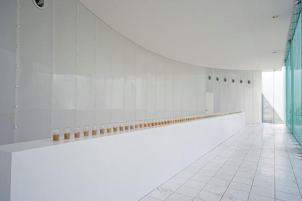 栗田宏一《ソイル・ライブラリー/和歌山》2007年 和歌山県内の土、ガラス瓶