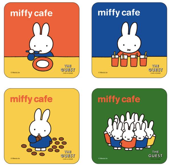 オリジナルドリンクを注文するともらえるカフェ限定コースター(全4種・ランダム)