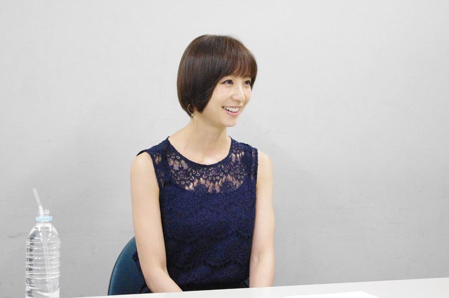 「一生で一番動いたね、と言える3カ月にしたい」と話す篠田