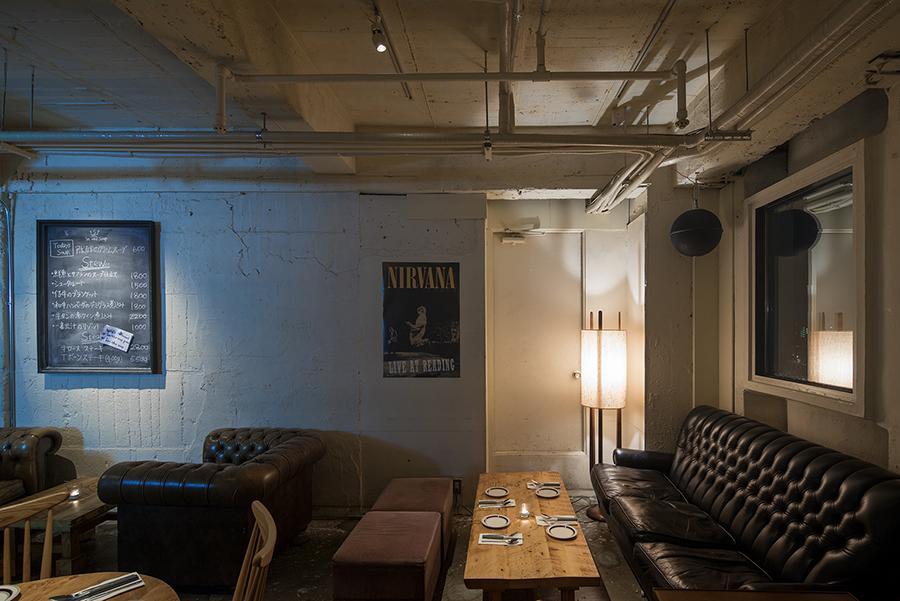 9階にあるビストロ「IN THE SOUP」。100年前のアメリカをイメージした空間に、煮込み料理が中心に