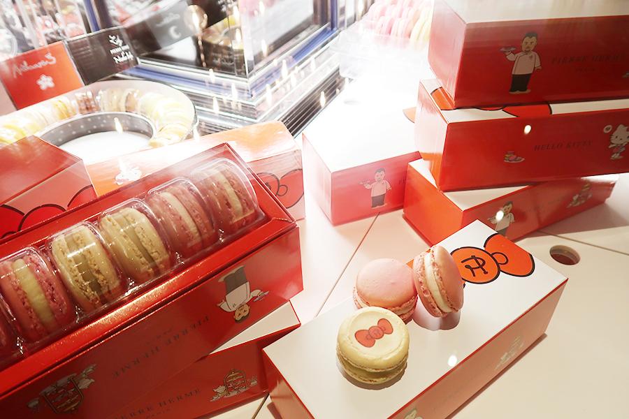 京都でしか買えない、スペシャルパッケージはホテル内の「ピエール・エルメ・パリ ブティック」で販売