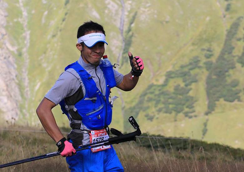 実行委員の杉村晋吾選手は、『サハラ砂漠マラソン』3年連続日本人最高位