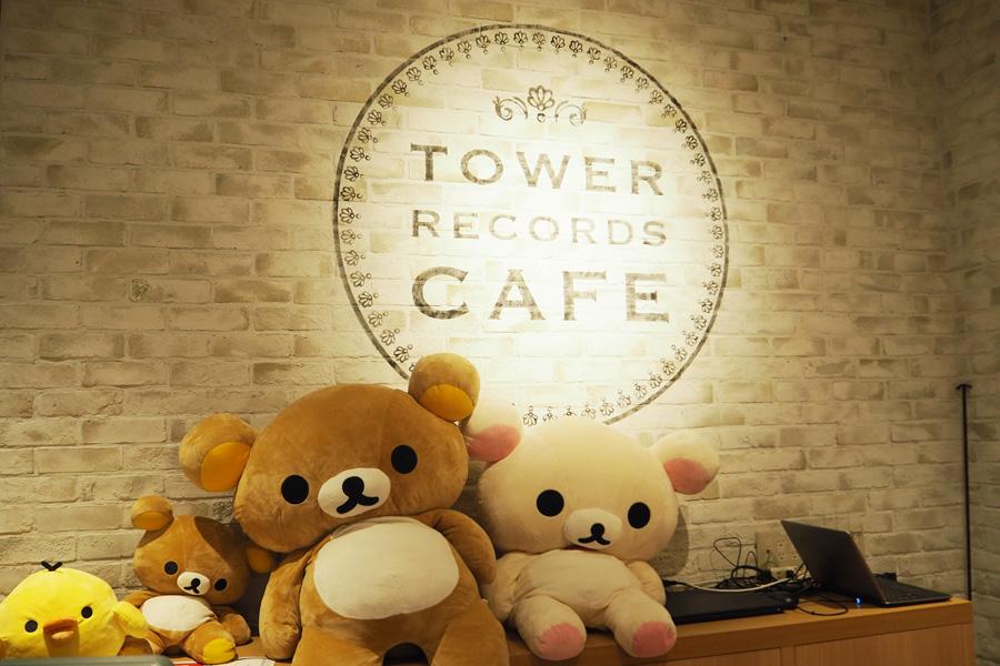 「タワーレコード梅田NU茶屋町店」内にオープンする「TOWER RECORDS CAFE」