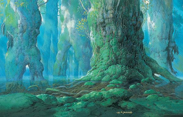 もののけ姫《シシ神の森》1997年 ©1997二馬力・GND