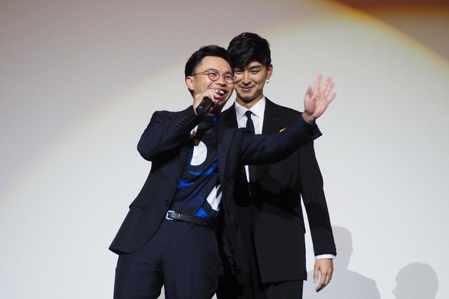 「翔太くんに突き放されるのが気持ち良くて」と告白したハマケンこと浜野謙太(左)