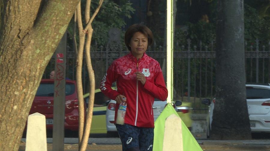 リオ五輪女子マラソンで日本勢最上位ながら、14位に終わった福士加代子