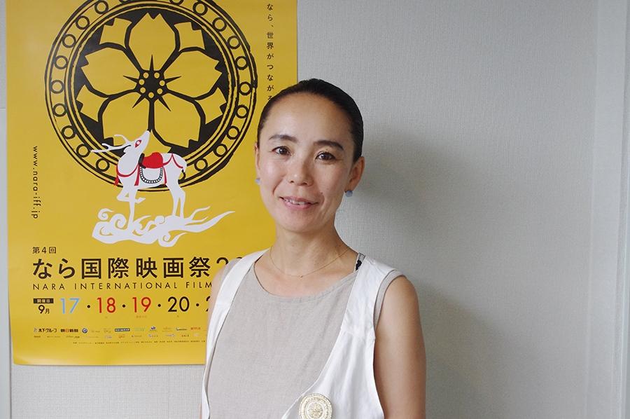 『なら国際映画祭』のエグゼクティブディレクターをつとめる河瀬直美監督