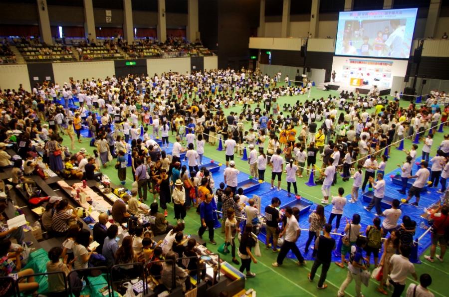 北は北海道、南は熊本からも参加者が訪れ、熱い戦いが繰り広げられた