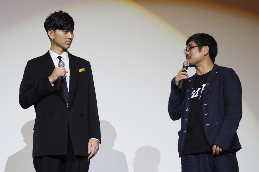 自分の役にシンパシーを感じたという松田に「本当にそう思う」と熊切監督も同意