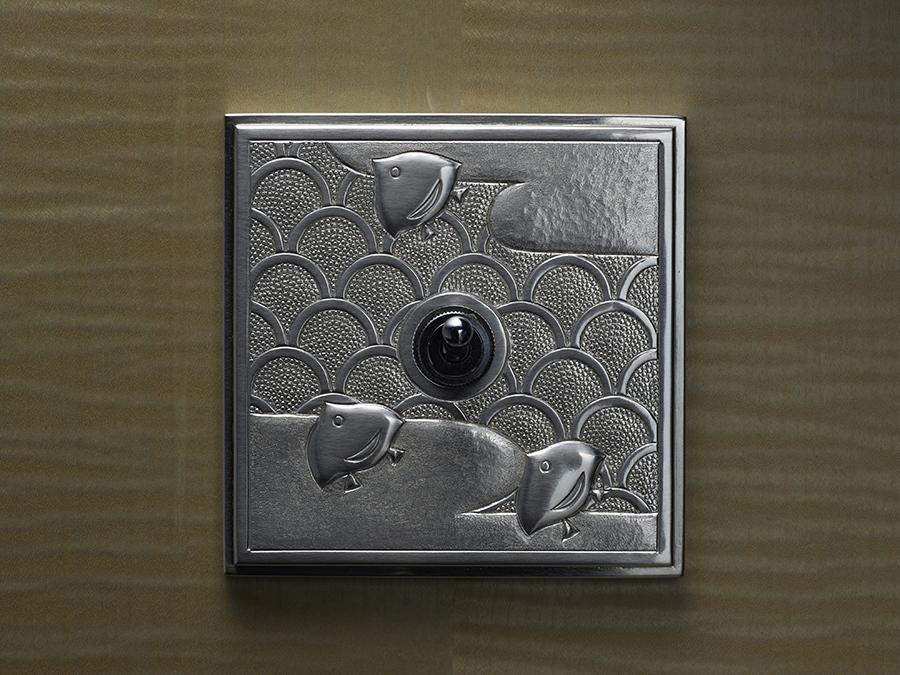 「森本錺金具製作所」(京都)による錺(かざり)金具