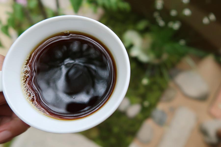 「ドリップコーヒー」470円。ブレンド2種、シングルオリジン6、7種から選べる