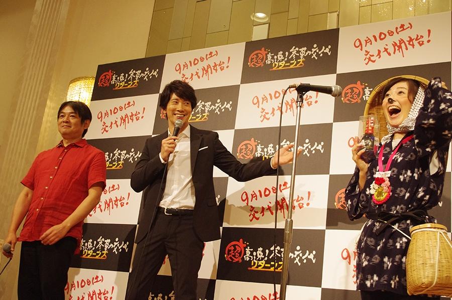 見事、佐々木の心をつかんだのは「どじょうすくい踊り」を披露した山陰中央テレビの坂西美香アナ