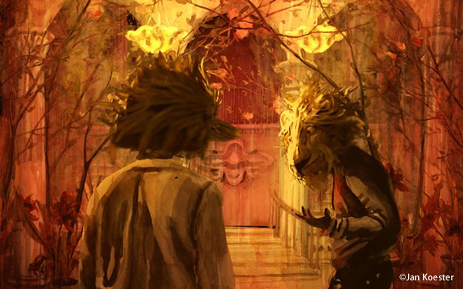 大阪限定プログラムのドイツアニメーション特集より 『松の館(The Pine Tree Villa)』/ドイツ 2016