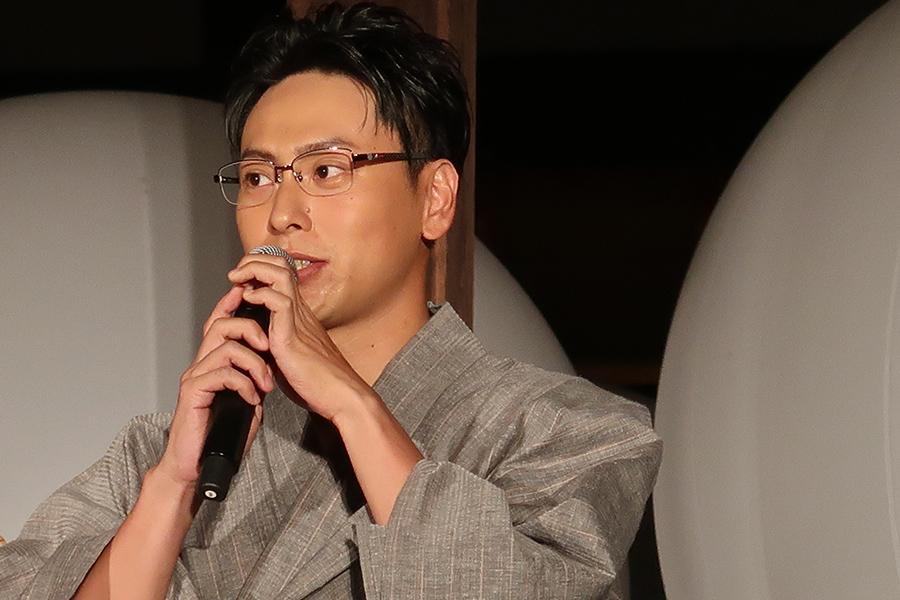 地元京都を舞台にした映画とあって、出演を喜ぶ山下