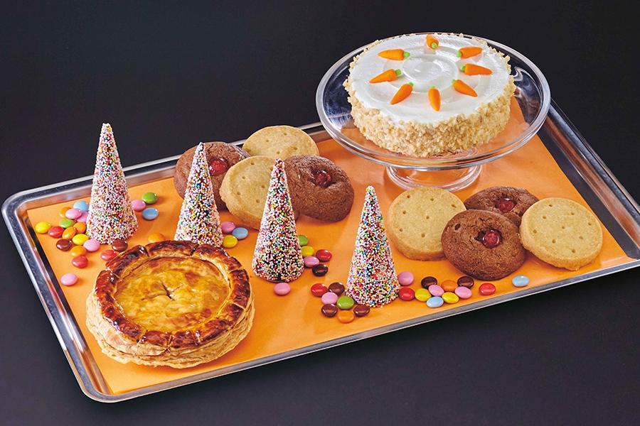 この秋だけの期間限定フード「ハロウィーン・デザート・フィースト」