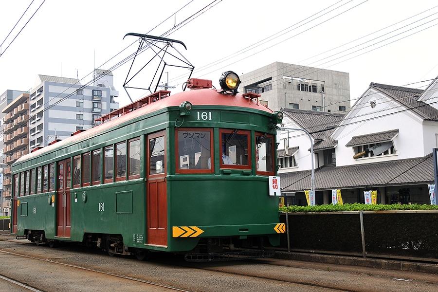阪堺電車のちん電「モ161号車」