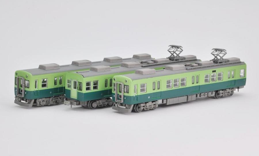 京阪電車2600系Aセット(一般色・先頭車一次車3両セット)
