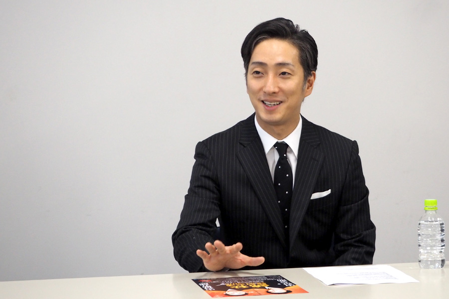 「大阪の方は、すばらしいお客さまがほんとに多い」とべた褒めの中村七之助