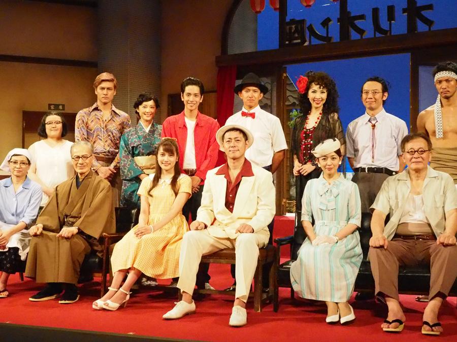 宅間孝行や入山杏奈をはじめとする舞台『歌姫』の出演者ら