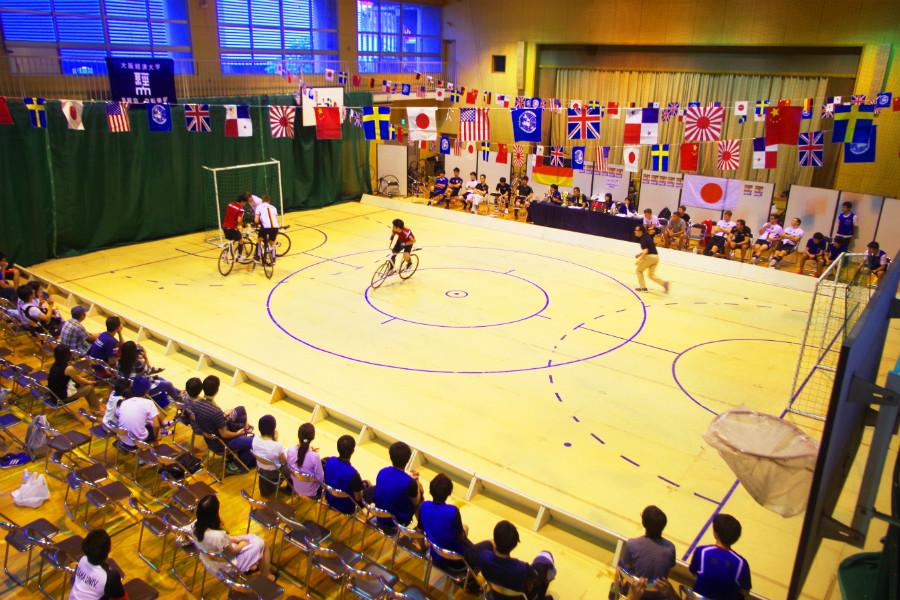 サイクルサッカーでは村上裕亮選手と岡嶋紘次選手のRSV OSAKAの日本のチームが優勝