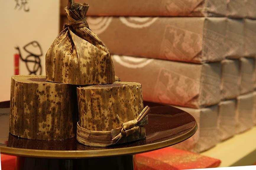 「京菓匠 笹屋伊織」の江戸時代から作られている「どら焼」。通常は20〜22日しか販売されていないが、今回は特別に9月25日まで販売