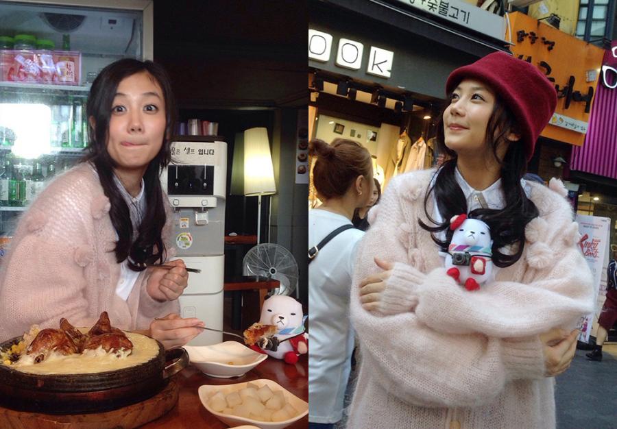 初めて韓国・ソウルを訪れた女優の清水富美加