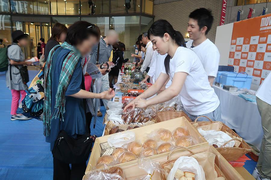イベント当日は、ロカボメニューの販売や、企画に賛同する企業によるサンプリングも実施