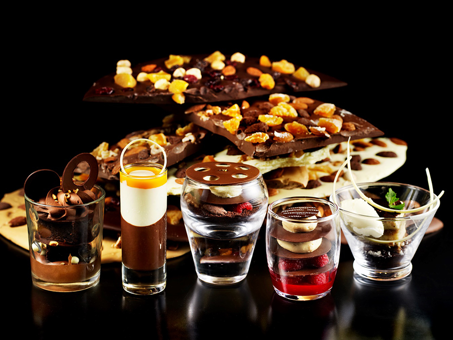 インターコンチネンタルホテル大阪の季節のスイーツブッフェ『チョコレート』